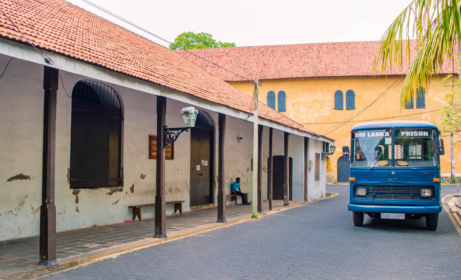 Galle Prison and Galle Maritime Museum