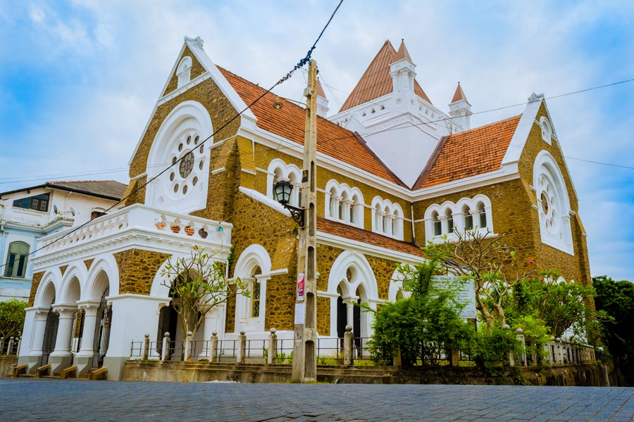 All Saints Church in Galle